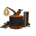 Professional Killstreak Fire Axe Kit