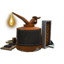 Professional Killstreak Sharpened Volcano Fragment Kit