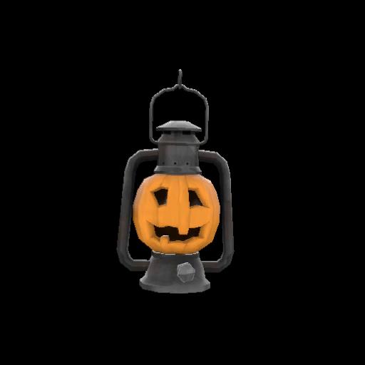 Strange Rump-o'-Lantern