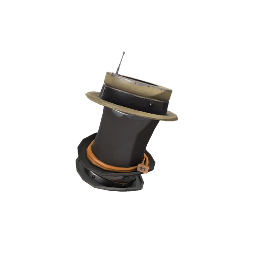 Towering Titanium Pillar of Hats