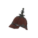 Platinum Pickelhaube