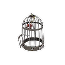 Unusual Bolted Birdcage
