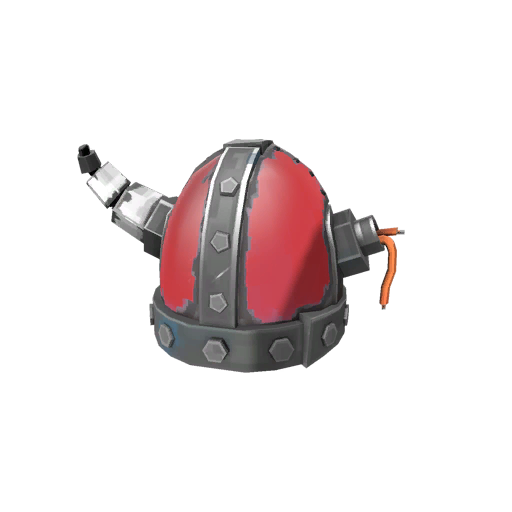 Strange Tyrantium Helmet