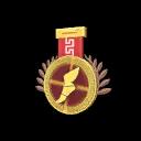 Genuine Sacred Scouts 6v6 Gold Medal