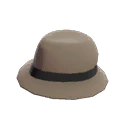Unusual Flipped Trilby