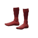 Strange Red Socks