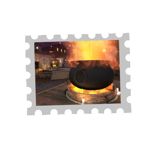 Map Stamp - Cauldron