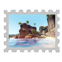 Map Stamp - Banana Bay