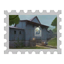 Map Stamp - Borneo