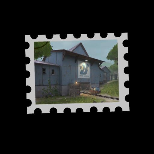 Map Stamp - Borneo