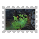 Map Stamp - Cursed Cove