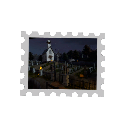 Map Stamp - Mann Manor