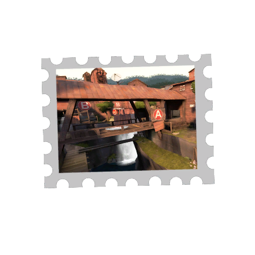Map Stamp - Mossrock