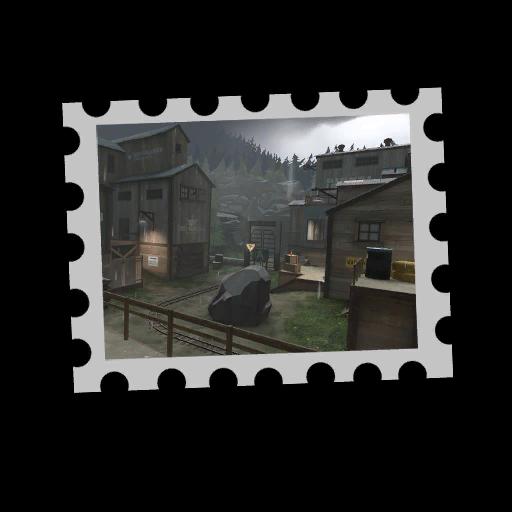 Map Stamp - Nightfall