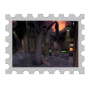 Map Stamp - Gravestone