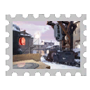 Map Stamp - Snowplow