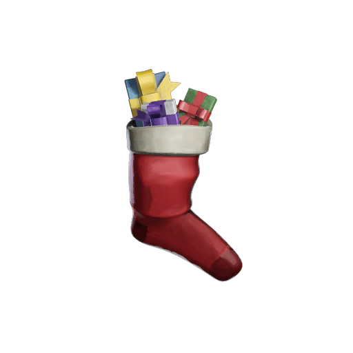 Gift-Stuffed Stocking