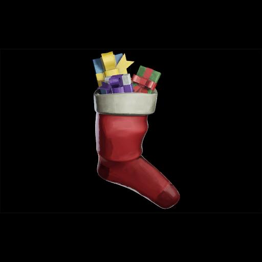 Gift-Stuffed Stocking