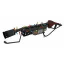 Gore-Spattered Festive Flame Thrower