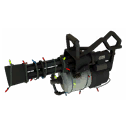 Server-Clearing Festive Minigun