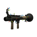 Gore-Spattered Festive Rocket Launcher