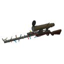 Positively Inhumane Festive Sniper Rifle