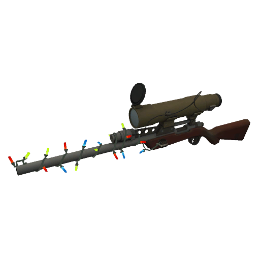 Shellace's Positively Inhumane Festive Sniper Rifle