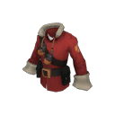 """Soldier claus's coat"""