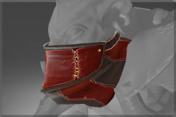 Rare Mask of the Crimson Cut-throat