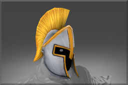 Rare Commander's Helm of the Flameguard