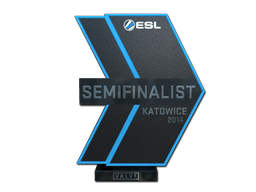 Semifinalist at EMS One Katowice 2014