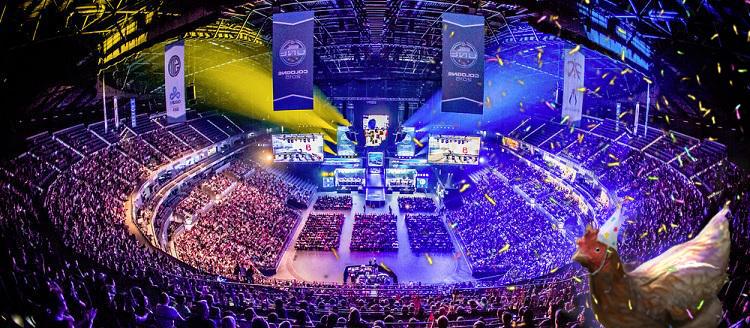 Залата за шампионата ESL One Cologne 2015 и празнично пиле!