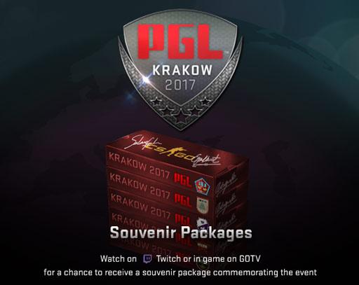 Сувенирни пакети Krakow 2017 | Наблюдаване на Krakow 2017 чрез Twitch