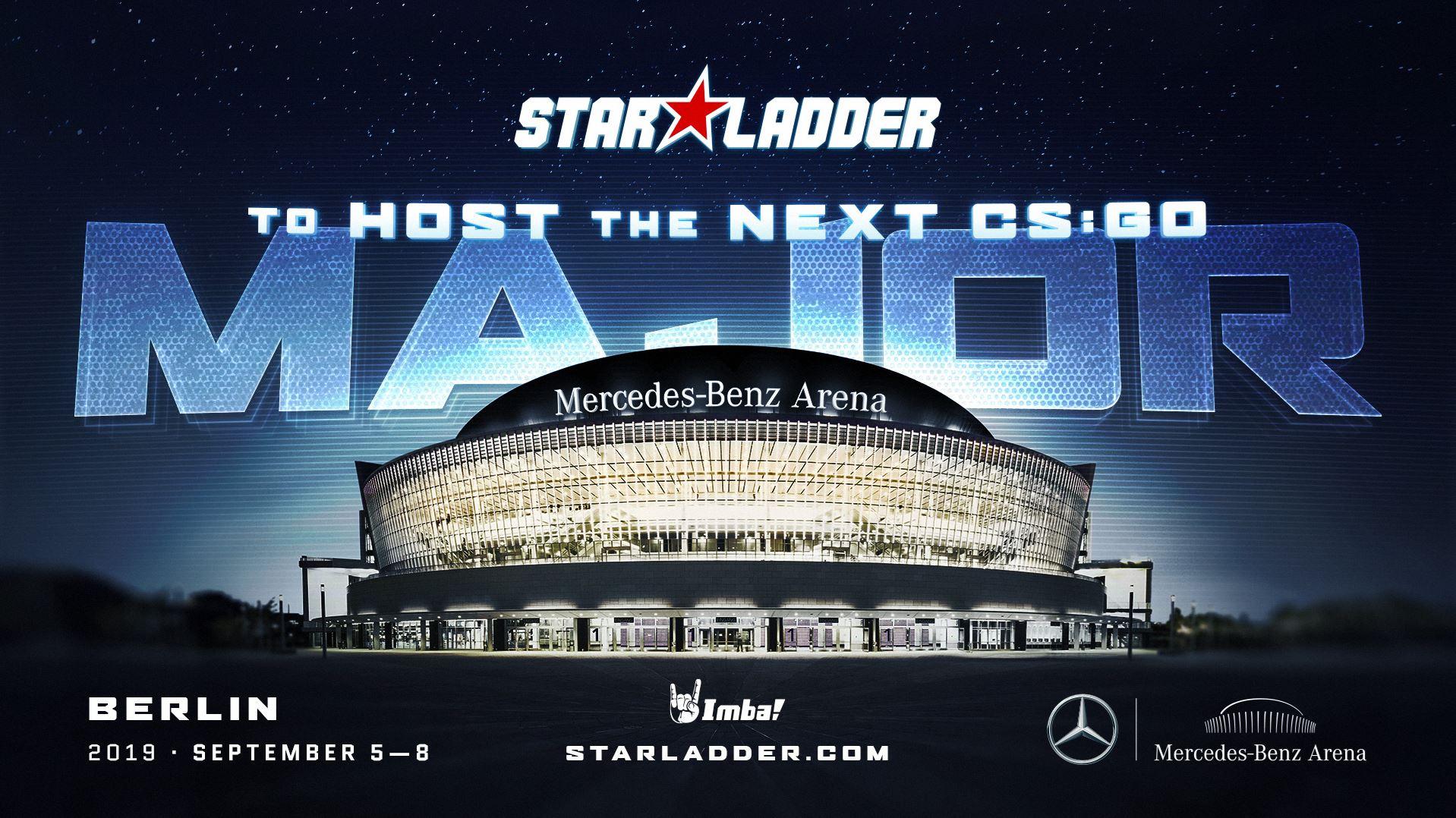 Анонс за следващия значим CS:GO шампионат с домакини Star Lader през 05 — 08 септември 2019 г.