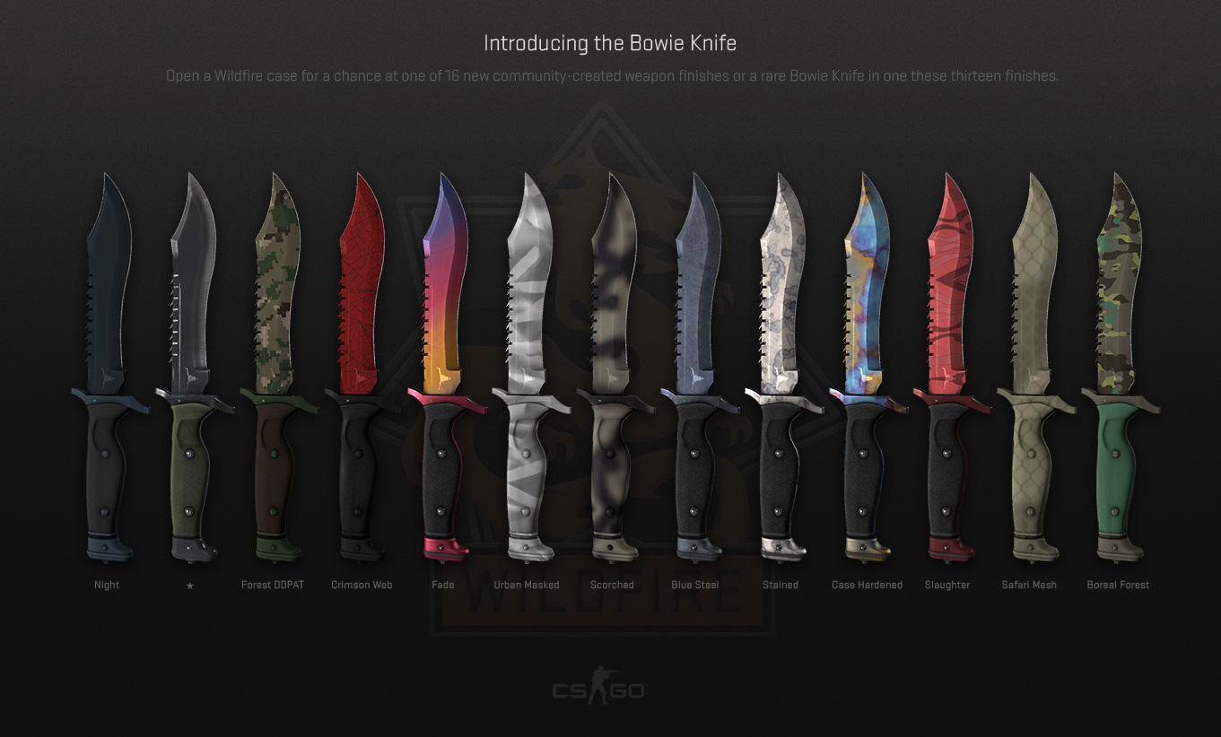csgo rare knife skins