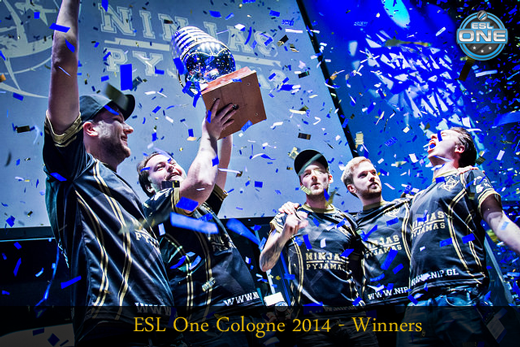 ESL One Cologne 2014 – Winners