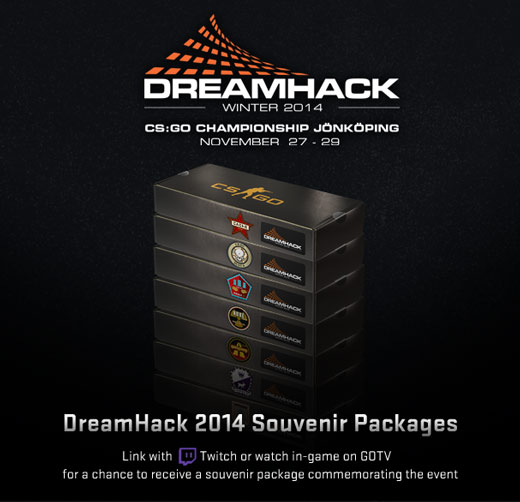 DreamHack 2014: Linking with Twitch