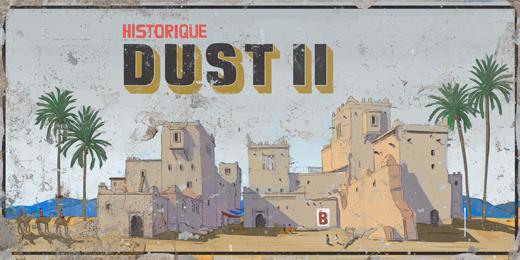 ИСТОРИЧЕСКАТА КАРТА — DUST II