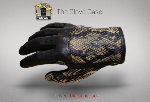 "Сандък ""Ръкавици"" — Driver | Шофьорски ръкавици | Diamondback | Диамантена гърмяща змия"