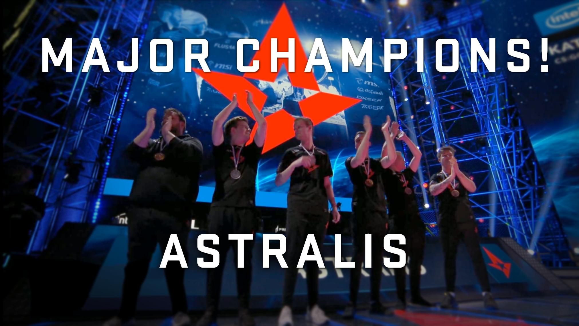 ASTRALIS са шампионете на значителния турнир IEM Katowice 2019
