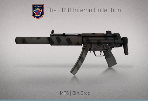 "Колекцията ""Inferno 2018"" — MP5 | Калобран | Dirt Drop"