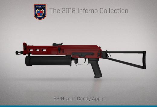 "Колекцията ""Inferno 2018"" — PP-Bison | Захаросана ябълка | Candy Apple"
