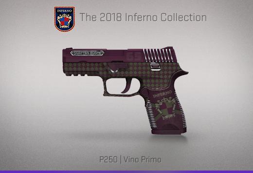 "Колекцията ""Inferno 2018"" — P250 | Първокласно вино | Vino Primo"