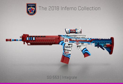 "Колекцията ""Inferno 2018"" — SG 553| Интеграл | Integrale"