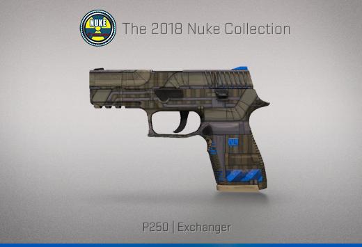 "Колекцията ""Nuke 2018"" — P250 | Обменник | Exchanger"