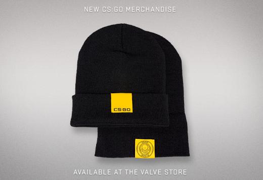 CS:GO тематични зимни шапки от Valve магазина