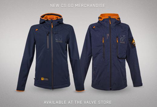 CS:GO тематични якета от Valve магазина