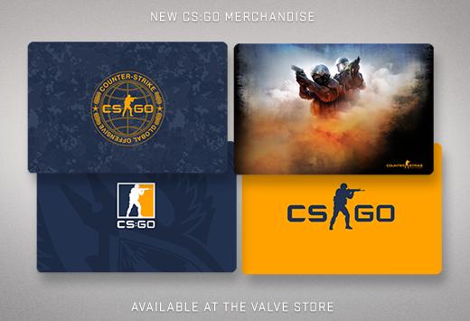 CS:GO тематични подложки за мишки от Valve магазина