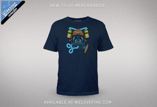 CS:GO тениска от Steam работилница за рекламни стоки и welovefine.com