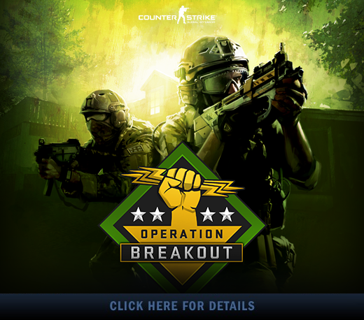 Operation Breakout ends October 2nd